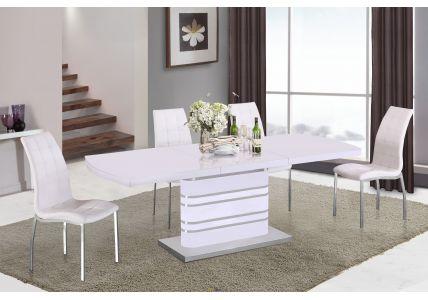 Стол обеденный COLORADO DT-82-3 white