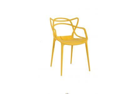 Стул садовый Мастерс желтый