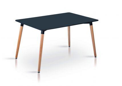 Стол обеденный NOLAN  DT-9017 прямоугольный черный