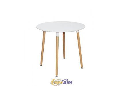 Стол обеденный NOLAN III DT-9017 круглый белый