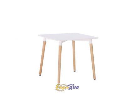 Стол обеденный  NOLAN II DT-9017 квадратный белый