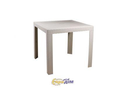 Стол обеденный SPRING II OW-T209S квадратный белый