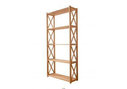 Этажерка деревянная Винтаж 170*80*29