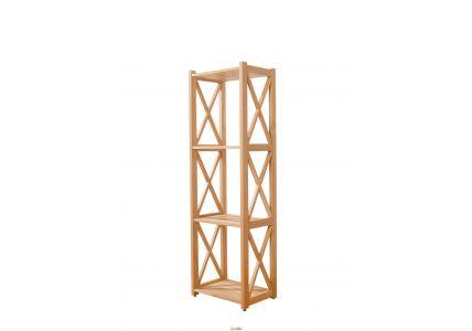 Этажерка деревянная Винтаж 129*40*29