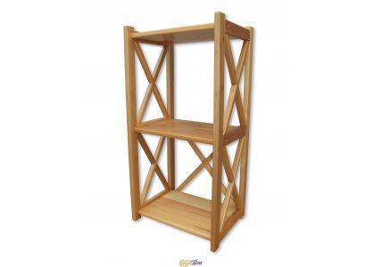 Этажерка деревянная Элегия 83*40*30 бук