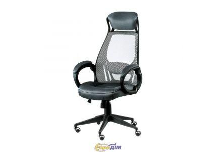 Кресло офисное Briz grey/black