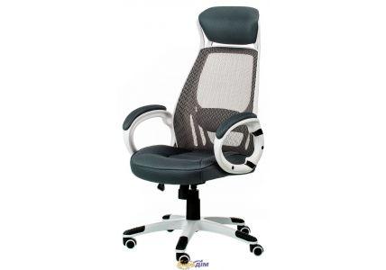 Кресло офисное Briz grey/white
