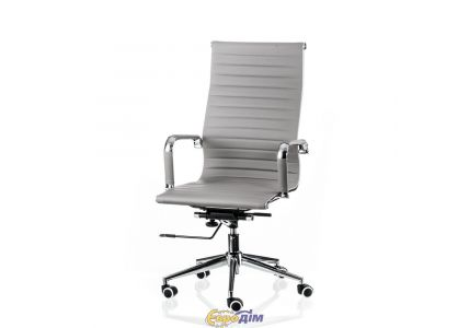 Кресло офисное Solano artlеathеr grey