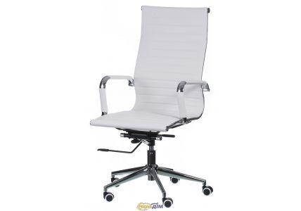 Кресло офисное Solano artlеathеr white