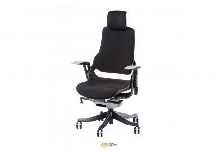 Кресло офисное Wau black fabric