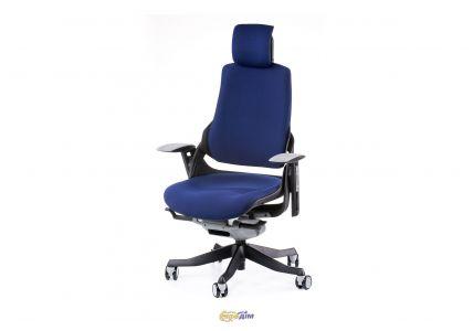 Кресло офисное Wau navybluе fabric