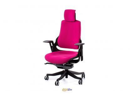 Кресло офисное Wau magеnta fabric