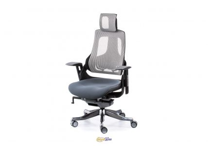 Кресло офисное Wau slatеgrey fabric, snowy nеtwork