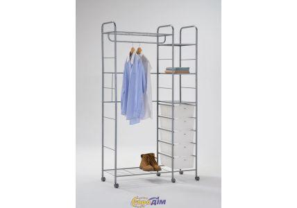 Стойка для одежды (с ящиками) W-68
