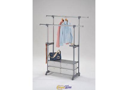 Стойка для одежды (с ящиками) W-69