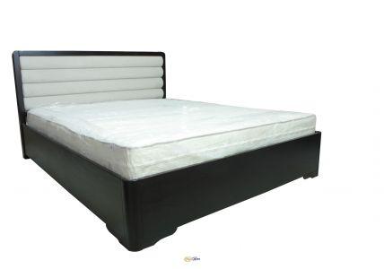 Кровать Милан 160х200 орех темный