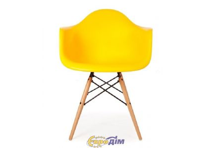 Кресло Тауэр Вуд желтый