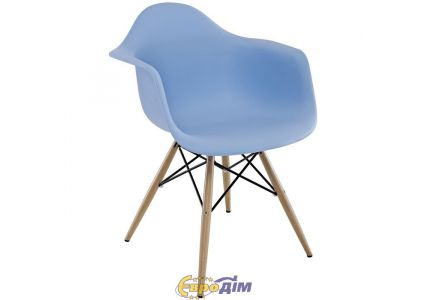 Кресло Тауэр Вуд голубой