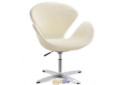 Кресло Сван белое