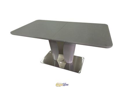 Стол обеденный ROCKFORD T-7255 Light grey satin