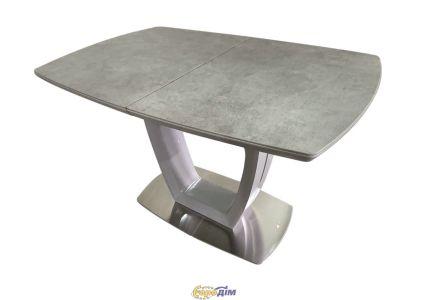 Стол обеденный ARIZONA T7066 Light grey satin Ceramic HY04