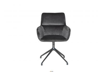 Вращающееся кресло C-2526 Donald Dark Grey