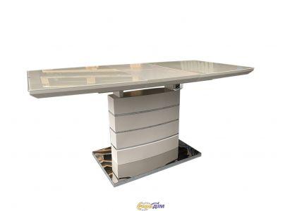 Стол обеденный Houston DT-9123-1 Mokko chrom leg
