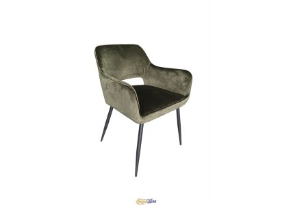Кресло обеденное Valentino 2219 Black