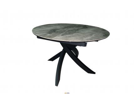 Стол обеденный Caezar T-7479 Grey Gloss Ceramic C20