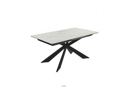 Стол обеденный Oregon T7065 White Gloss Ceramic HY03