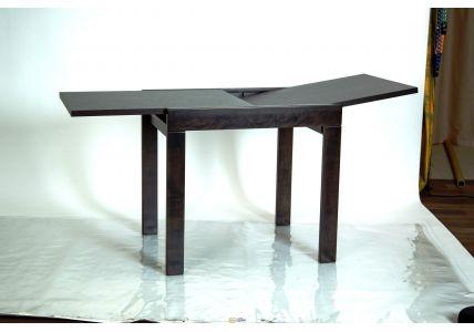 Стол-слайдер обеденный Слайдер венге/венге 800
