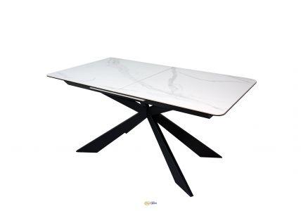 Стол обеденный Oregon T7065 White matt Ceramic ZH01