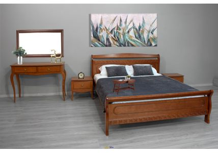 Кровать Виктория 160 х 200 орех