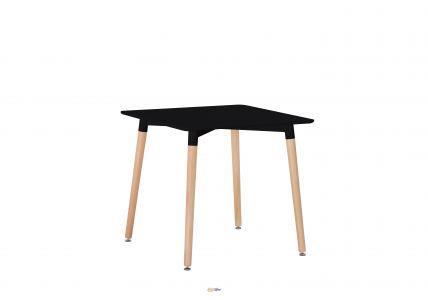 Стол обеденный NOLAN II DT-9017 квадратный черный