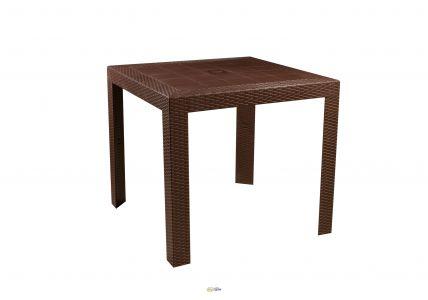 Стол обеденный SPRING II OW-T209S квадратный коричневый