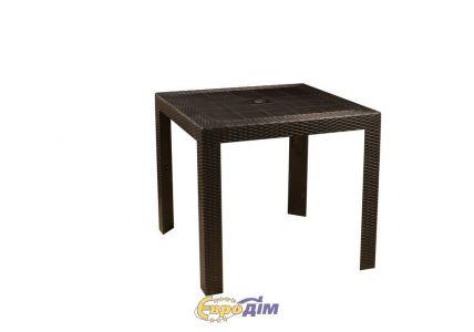 Стол обеденный SPRING II OW-T209S квадратный черный