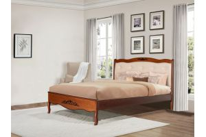 Купить кровать из дерева от производителя ~ЕвроДом~